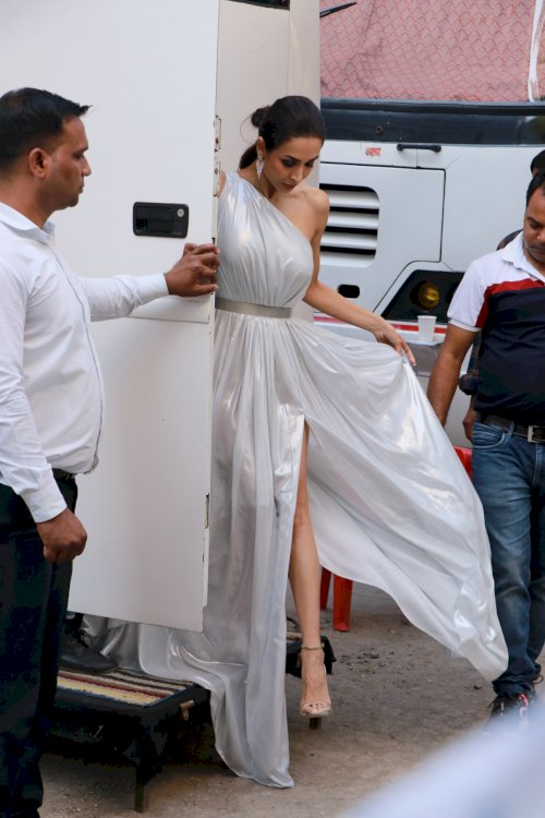 Malaika Arora spotted at Filmistan./Pics by News Helpline