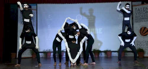 Second Day of �Youth Vibe� Fest witnessed Massive Competitions and Lagori Band Performance at LPU.