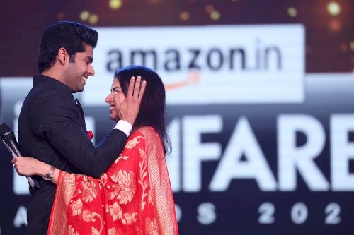 65th Amazon Filmfare Awards 2020 - Ahbimanyu Dassani wins Best Debut (Male).