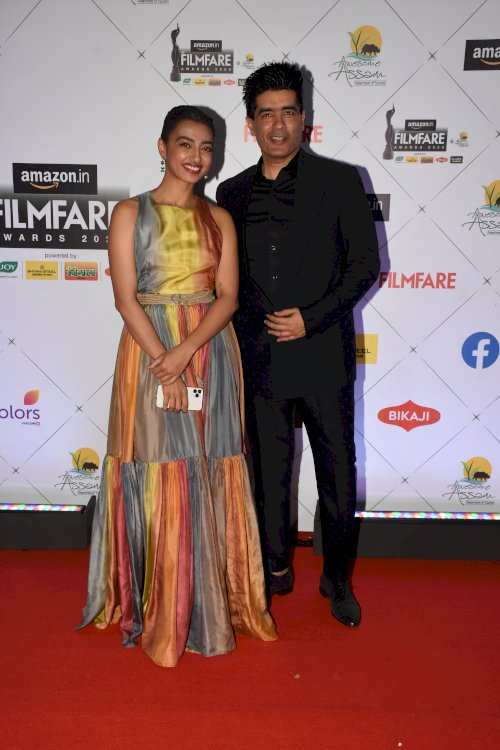 Radhika Apte and Manisha Malhotra at the 65th Amazon Filmfare Awards 2020.