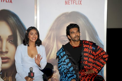 Karan Johar, Kiara Advani and others at trailer launch of Netflix original film Guilty. /Pics by News Helpline