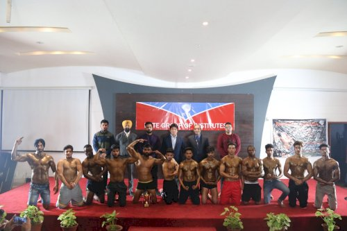 PCTE Group of Institutes, Ludhiana on February 20, 2020 organized Body Building Competition.