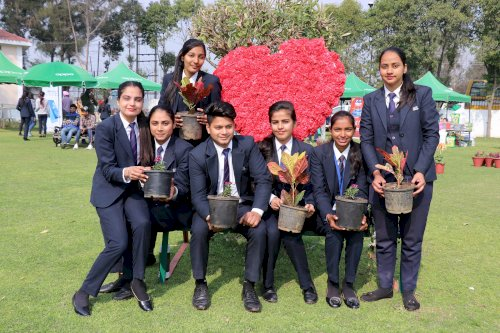 Department of Agriculture, CT Group of Institutions, Shahpur campus organized a flower show on February 20, 2020.