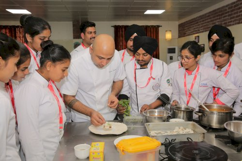 Faculty of Hospitality at GNA University at Phagwara on February 22, 2020 organized three days� Culinary Master Class on advanced cooking techniques and modern plating for the aspiring chefs.