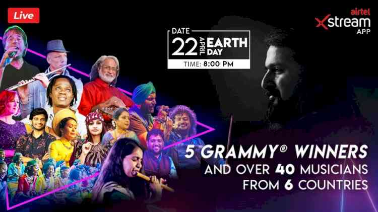 AIRTEL MARKS EARTH DAY 2020 WITH LIVE STREAMING OF SPECIAL GLOBAL CONCERT BY GRAMMY AWARD WINNER RICKY KEJ