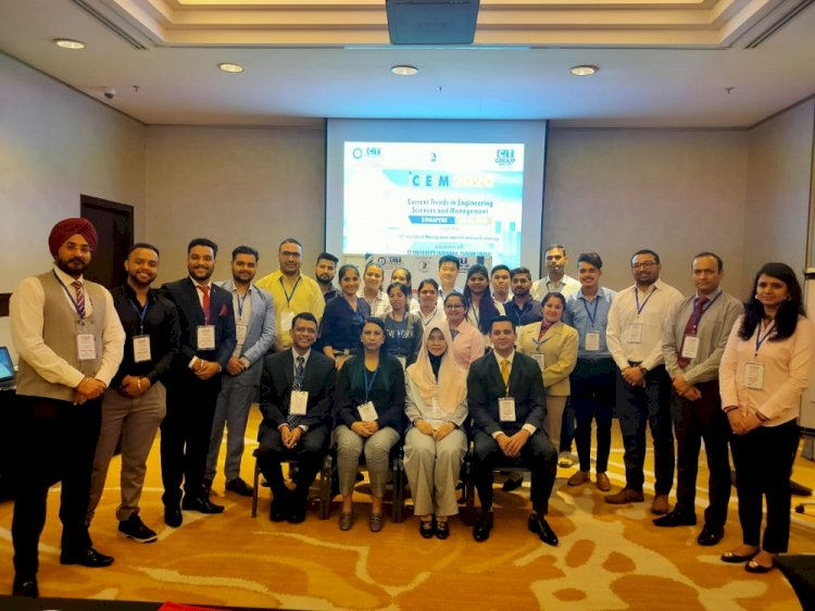 CT University organizes international conference ICTESM 2020 in Singapore