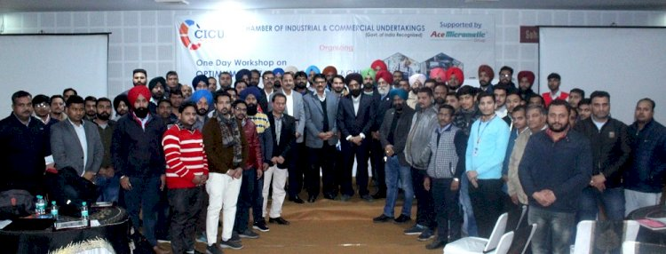 Workshop on optimum utilization of CNC machine