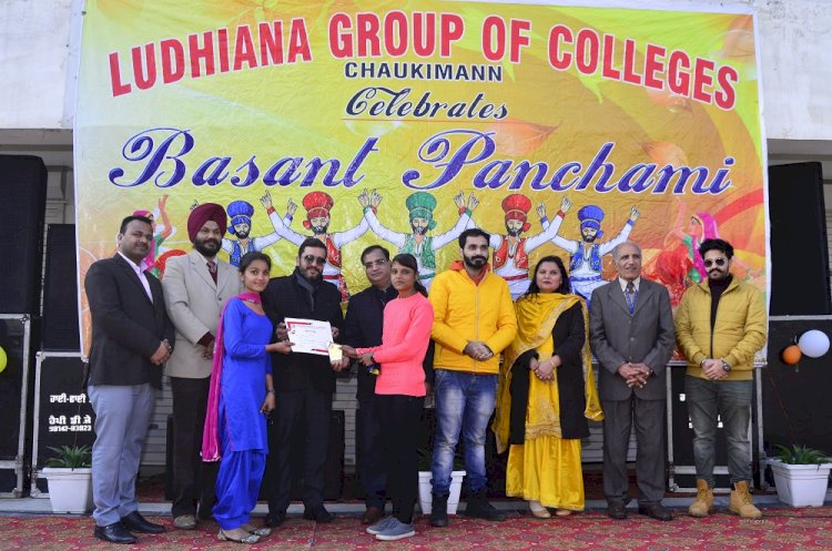 Ludhiana Group of Colleges celebrates basant panchmi