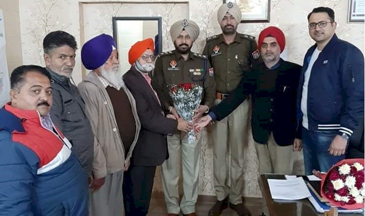Delegation meets traffic officials in Ludhiana city