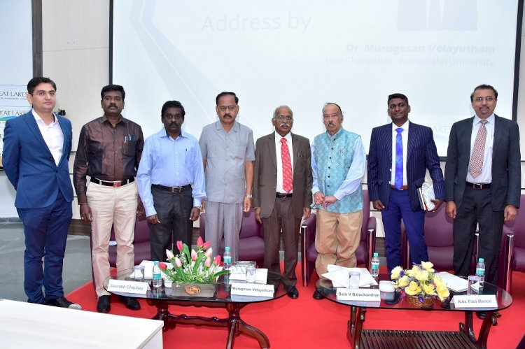 12th International Entrepreneurship Conference held at Great Lakes Institute of Management Chennai