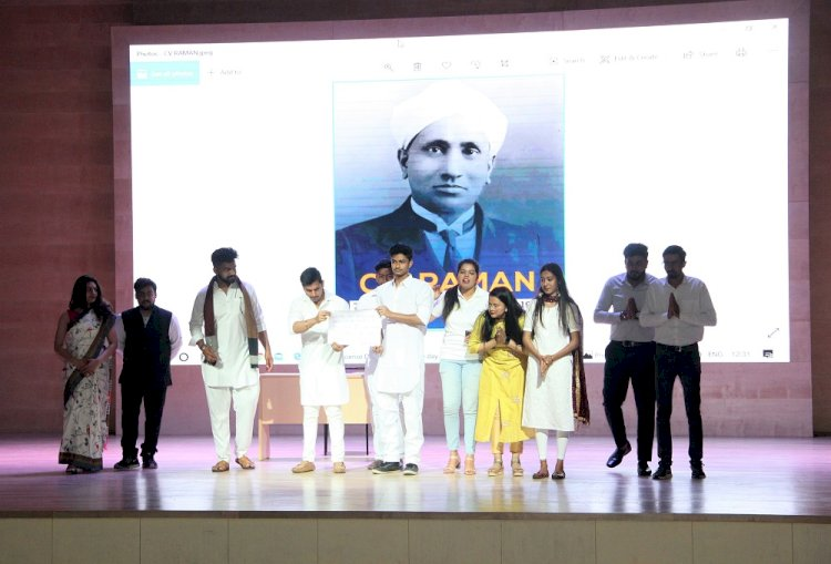 Amity University Gurugram organized national science day