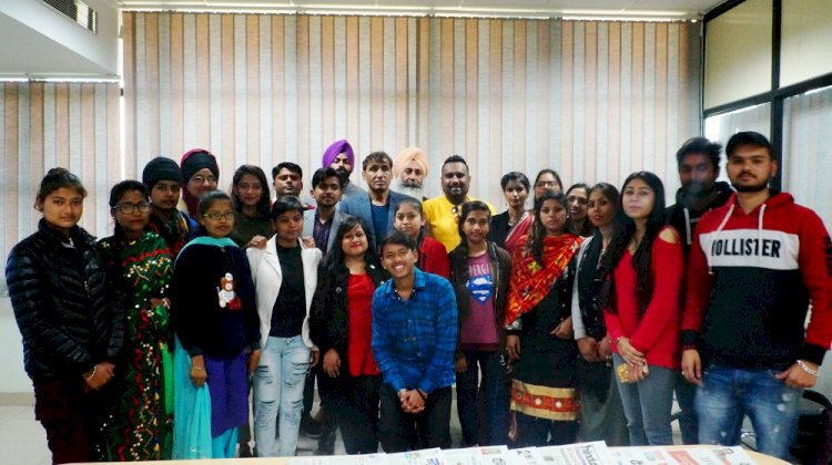 IKGPTU journalism students get benefit of practical of two core subjects